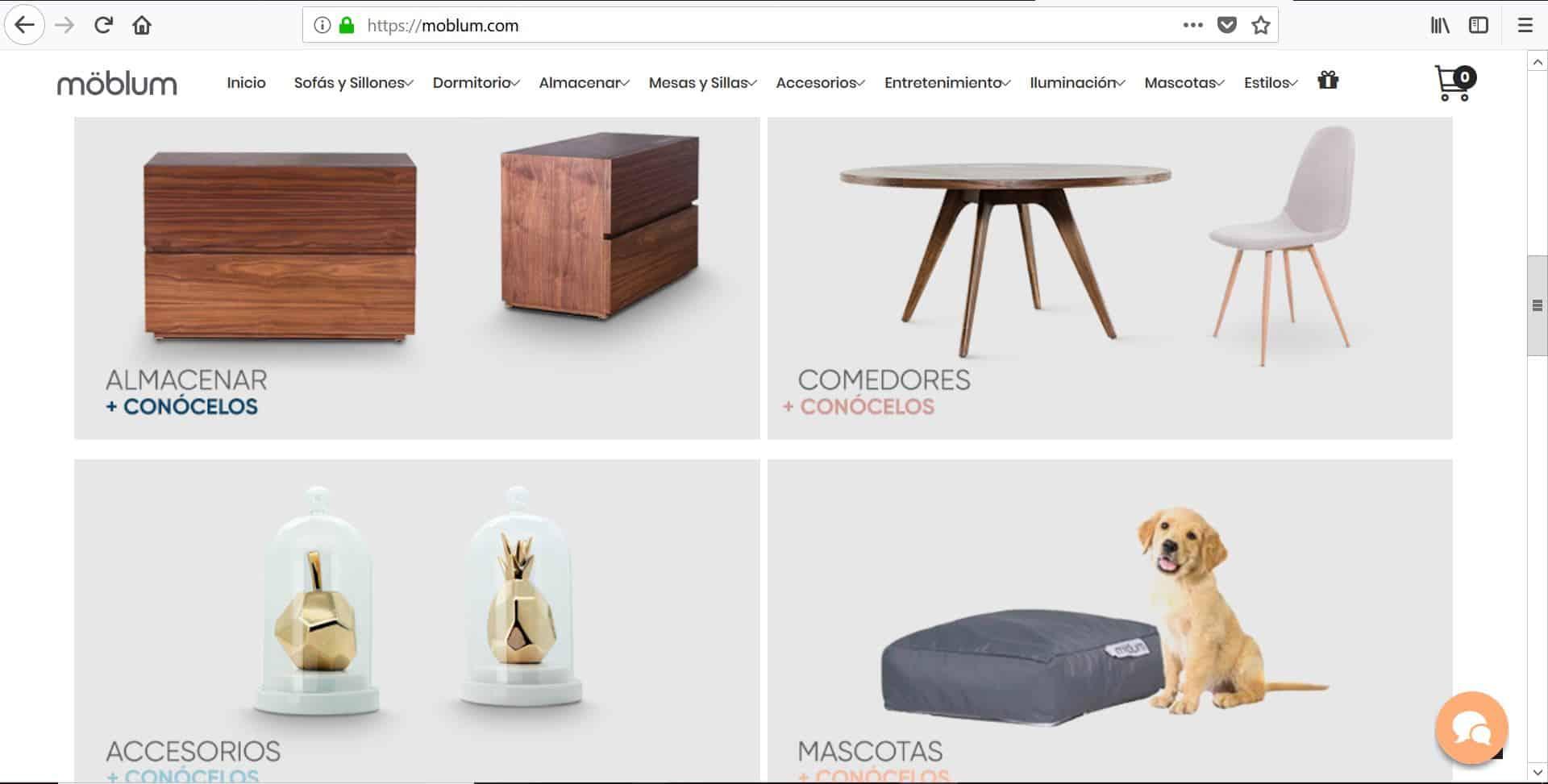 Las mejores tiendas para comprar muebles online vida y for Comprar muebles de diseno online